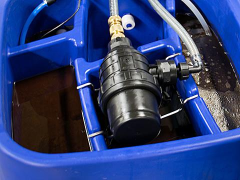 Hebemann Oil Grazer M3 Olie Skimmer - oil grazer m3 separation method